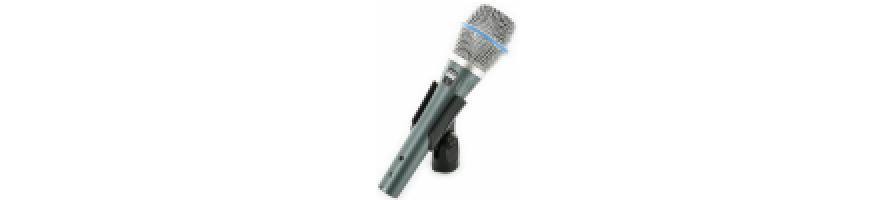 Microfoane cu condensator