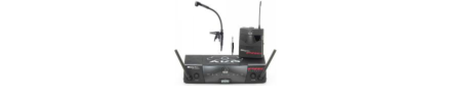 Microfoane fara fir pentru instrumente