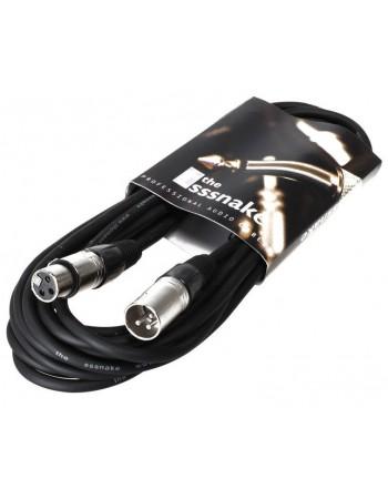 Cablu microfon The Sssnake SM10BK 10m
