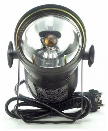 STAIRVILLE PAR 36 MIT LAMPE IN SCHWARZ