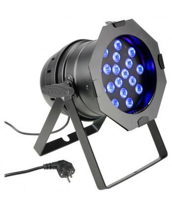 Cameo LED PAR 64 - 18 x 3W TRI Bk
