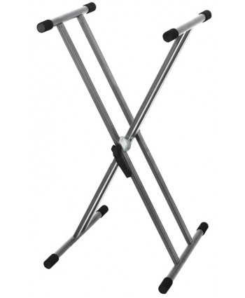 BSX Keyboard Stand - Duble Silver