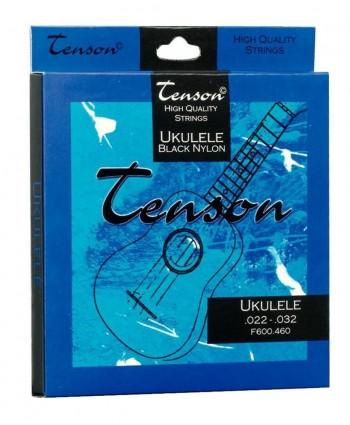 Tenson Strings Ukulele Black Nylon .022-.032