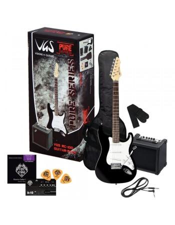 Chitara electrica VGS RC-100 Set Negru