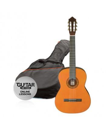 Ashton CG34AM - 3/4 Classical Guitar Pack Amber