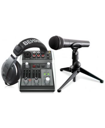 Behringer Podcastudio USB Set 2