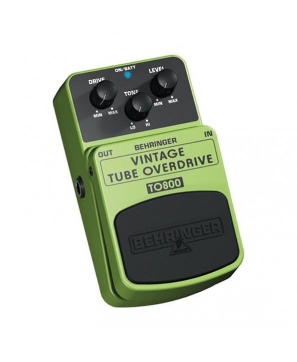Behringer TO800 pedala efect chitara tube overdrive