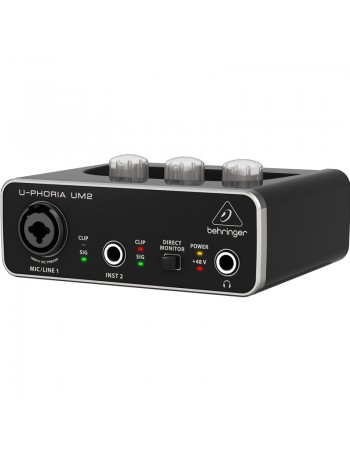 Behringer U-Phoria UM2 interfata audio USB