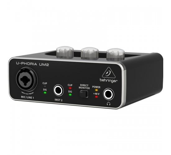 Behringer U-Phoria UM2 interfata audio USB