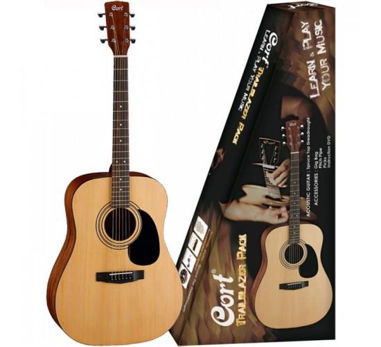 Chitara acustica Cort CAP810 NS Set