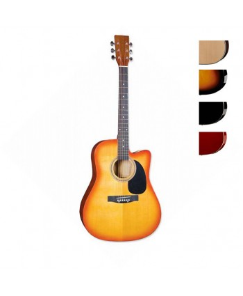 Acoustic Guitar Hemilton SNAG012 SET