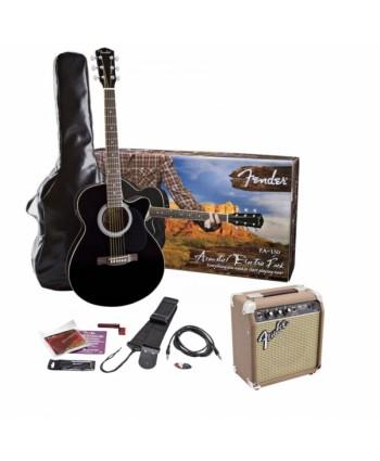 Chitara electro-acustica Fender FA-130 w/ SA-10 amp Set