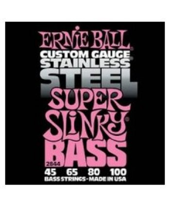 Ernie Ball EB 2844 Stainless Steel Super