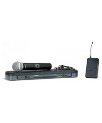 SHURE PG1288/PG185 Vocal/Lavalier Combo Wireless System