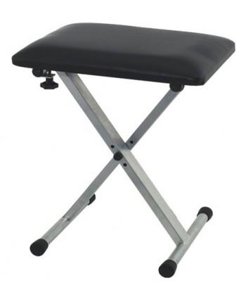 Gewa scaun sintetizator argintiu