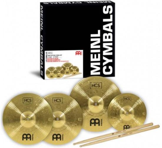 Meinl HCS1314+10S Cymbal Set
