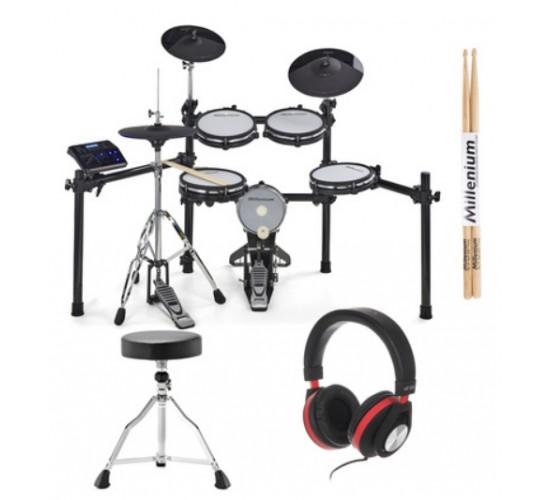 Millenium MPS-750X E-Drum Mesh Set Bundle
