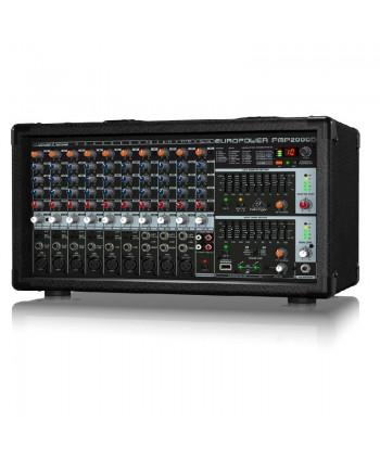Mixer Amplificat Behringer PMP2000D
