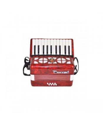 Acordeon Parrot ST2000 22K 8B Red