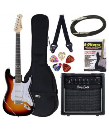 Set chitara electrica Thomann Guitar Set G13 Sunburst