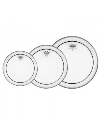 Set Fete Remo Pinstripe Clear Roto Tom (6,8,10)