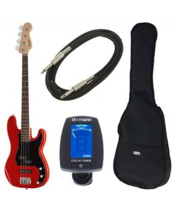 Squier Affinity P-Bass PJ R Bundle