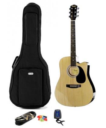 Squier SA-105CE NA Set chitara electro-acustica