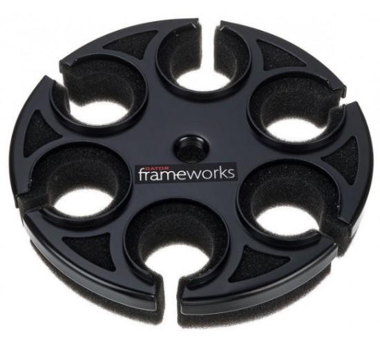 Suport 6 microfoane Gator Frameworks Mic 6 Tray